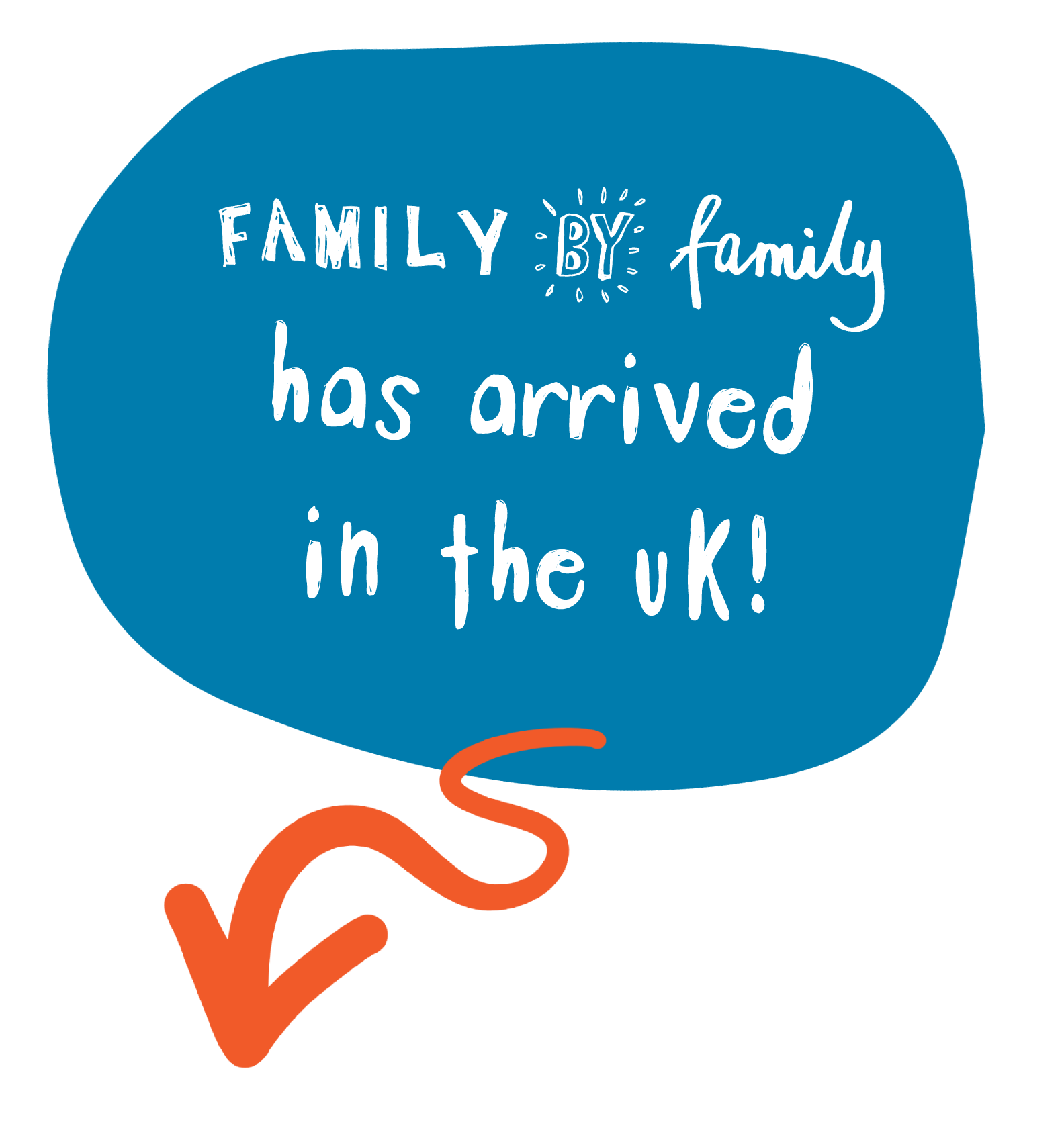 Family by Family has arrived in the UK!